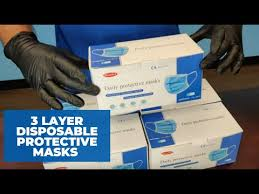 3 Layer <b>Disposable Protective Masks</b> Case - YouTube