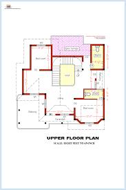 Bedroom home plan and elevation   Kerala home design and floor plansGround floor plan Upper floor plan