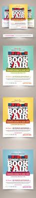 book fair flyer template on behance
