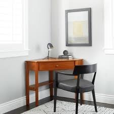 Simple Living Wood Corner Computer Desk  O