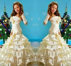 <b>New Mermaid Flower</b> Girls Dresses For Weddings <b>2019</b> Strapless ...