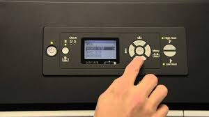 <b>Epson Stylus Pro GS6000</b> | Control Panel Overview - YouTube