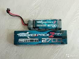 <b>Аккумулятор Team Orion Rocket</b> 2 NiMh 7.2V 6S 2700 купить в ...