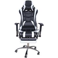 Игровое компьютерное <b>кресло</b> MFG-6001 <b>black</b> white - Meb-biz.ru