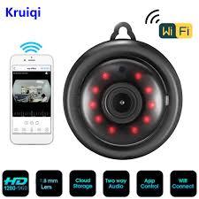 <b>Kruiqi 960P</b> 720P Home Security <b>IP Camera</b> Two Way Audio ...