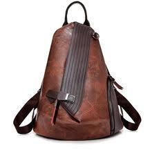 Best value <b>Women Genuine</b> Leather Patchwork Fashion School <b>Bag</b> ...