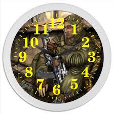 "Часы круглые из пластика ""<b>STALKER</b>"" #1544656 от game-fan ..."