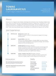 cv resume templates  html psd amp indesign web  minimal resume psd