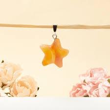 Купить <b>Кулон сердолик</b> Ботсвана звезда (<b>биж</b>. сплав) 2,5-3 см ...