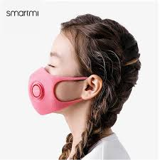 SmartMi Haze-Proof Mask Powerful Filtration PM2.5 Blocking ...