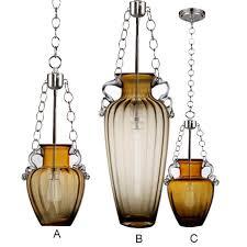 modern amber blown glass bottle pendant lighting 11906 blown glass bottle pendant