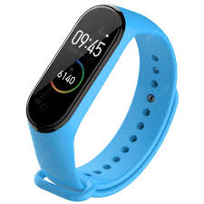 <b>TAMISTER</b> Replacement Strap for Xiaomi Mi Band 3 / 4 Sky Blue ...