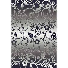Прямоугольный <b>ковёр Silver d214</b>, 80 х 150 см, цвет <b>gray</b> ...