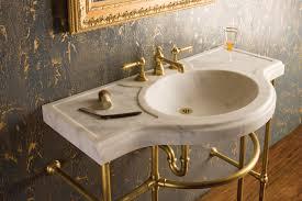 sinks bathroom stone sink