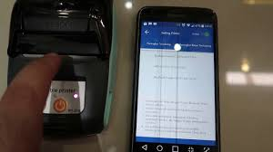 Test Printer <b>GooJPRT PT</b>-210 dengan Aplikasi Visel - YouTube