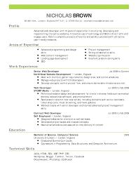 Resume Quantity Surveyor VisualCV