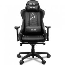 Купить <b>Arozzi Gaming Chair</b> - Star Trek Edition - Black <b>AROZZI</b>-VV2 ...