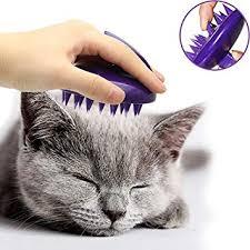 CELEMOON Ultra-Soft Silicone Washable <b>Cat Grooming</b> Shedding