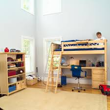 awesome twin high loft bed childrens bunk bed desk full