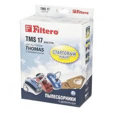 <b>Пылесборник FILTERO</b> TMS 17 (2+1 шт) для Thomas стартовый ...