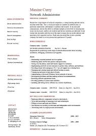 network administrator resume  it  example  sample  cisco  routers    network administrator resume