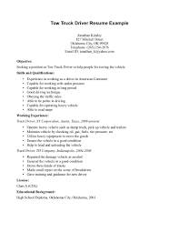 resumes for truck drivers cipanewsletter resume for truck driver berathen com