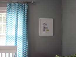 light blue curtains sheer