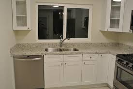 white kitchen cabinets stainless