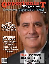 Jim Byrd, CEO and Chairman of Orlando-based Engage Mobility, Inc. (OTCQB: ENGA), ... - JimByrdCover300x350