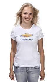 """Женские футболки c красивыми принтами """"chevrolet"""" - <b>Printio</b>"""
