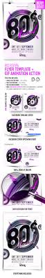 s revival flyer template gif action by feelsmart graphicriver 80s revival flyer template gif action print templates