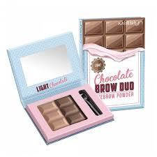 Misslyn `<b>Тени для бровей</b> Chocolate Brow Duo Eyebrow Powder ...