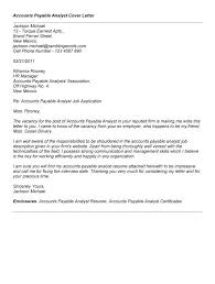 good cover letter for accounts payable cover letter templates accounts receivable analyst cover letter