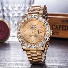 <b>Gypsophila</b> Diamond Steel Belt <b>Watch</b> Genuine Full Diamond Men's ...
