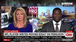 nfl s benjamin watson on cnn jesus christ died for our sins nfl s benjamin watson on cnn jesus christ died for our sins