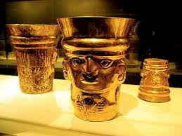 Artifacts in the Gold Museum of Peru