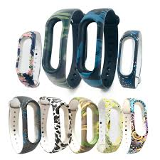 Silicone <b>Wristband for</b> Xiaomi Mi band 2 <b>Strap Colorful Strap</b> ...