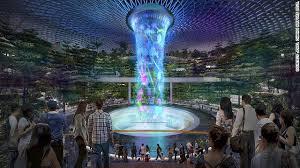 Sneak peek at Singapore Changi Airport's <b>spectacular</b> new Jewel