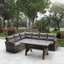 <b>Комплект мебели AFINA</b> GARDEN <b>AFM</b>-307G Brown/Olive: купить ...