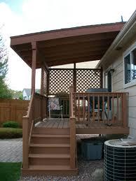 wooden patio covers interior design