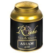 <b>Чай</b> вес РИЧ <b>натур Riche Natur черный</b> кр.л. ASSAM GOLD ж/б 400г