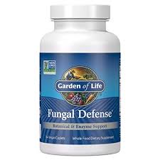 Buy Garden of Life, <b>Fungal Defense</b>, <b>84</b> Veggie <b>Caplets</b> Online at ...