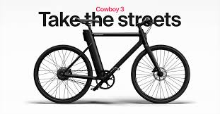 <b>COWBOY</b> - Electric Bike for Urban Riders