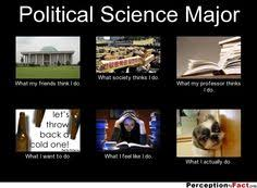 Political Science Major... - What people think I do, what I really ... via Relatably.com