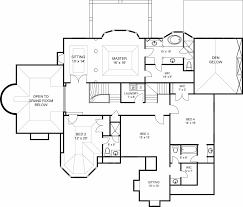 Featured House Plan  PBH     Professional Builder House PlansSecond Floor Plan image of Featured House Plan  PBH