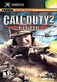 Call of Duty 2: Big <b>Red One</b> (Microsoft Xbox, 2005) for sale online ...