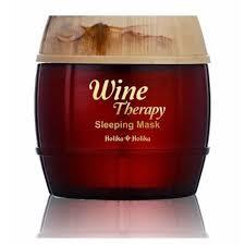 HOLIKA <b>HOLIKA Wine Therapy Sleeping</b> Mask Pack 120ml Face ...
