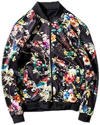 Man Jacket Flower Print <b>Spring and Autumn</b> New <b>Mens</b> Jacket ...