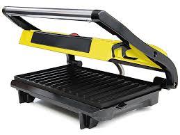 <b>Сэндвичница Kitfort Panini Maker</b> KT-1609-2 (черно-желтый)