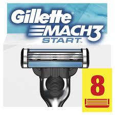 Gillette Mach3 Start <b>Сменные Кассеты Для Бритвы</b>, 8 шт.-in ...